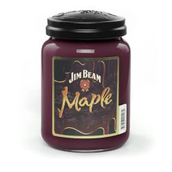 Candele profumate Candleberry color rosso  Jim Beam Maple Large Jar online - Prezzo:   27.92 €