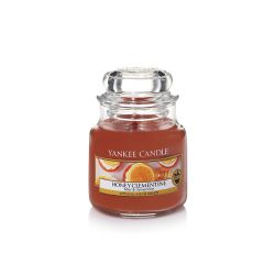 Candele profumate Yankee Candle color arancione  Honey Clementine Small Jar online - Prezzo:   5.95 €