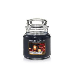 Candele profumate Yankee Candle color marrone  Autumn Night Medium Jar online - Prezzo:   24.90 €