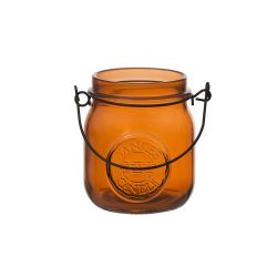 Accessori Yankee Candle color arancione  Jam Jar Porta Tea Light online - Prezzo:   3.24 €