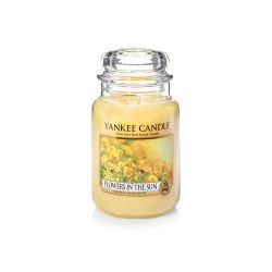 Candele profumate Yankee Candle color giallo  Flowers in The Sun Large Jar online - Prezzo:   29.90 €