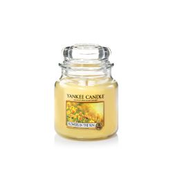 Candele profumate Yankee Candle color giallo  Flowers in The Sun  Medium Jar online - Prezzo:   24.90 €