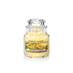 Candele profumate Yankee Candle color giallo  Flowers in The Sun  Small Jar online - Prezzo:   11.90 €
