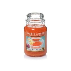 Candele profumate Yankee Candle color arancione  Passion Fruit Martini Large Jar online - Prezzo:   29.90 €