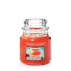 Candele profumate Yankee Candle color arancione  Passion Fruit Martini Medium Jar online - Prezzo:   24.90 €