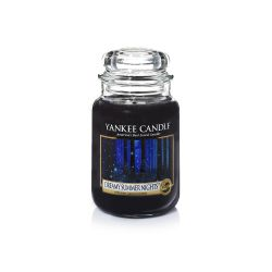 Candele profumate Yankee Candle color nero  Dreamy Summer Night Large Jar online - Prezzo:   29.90 €