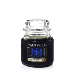 Candele profumate Yankee Candle color nero  Dreamy Summer Night Medium Jar online - Prezzo:   24.90 €