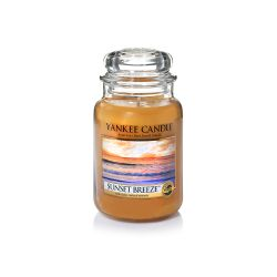 Candele profumate Yankee Candle color arancione  Sunset Breeze Large Jar online - Prezzo:   29.90 €
