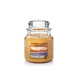 Candele profumate Yankee Candle color arancione  Sunset Breeze Medium Jar online - Prezzo:   24.90 €