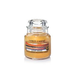 Candele profumate Yankee Candle color arancione  Sunset Breeze Small Jar online - Prezzo:   11.90 €