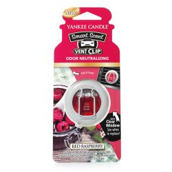 Yankee Candle per auto  color rosso  Smart Scent Vent Clip RED RASPBERRY online - Prezzo:   5.99 €