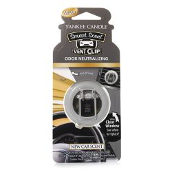 Yankee Candle per auto  color nero  Smart Scent Vent Clip NEW CAR SCENT online - Prezzo:   5.99 €