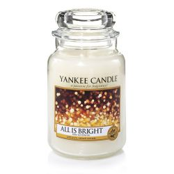 Candele profumate Yankee Candle color bianco  All Is Bright Large Jar online - Prezzo:   29.90 €