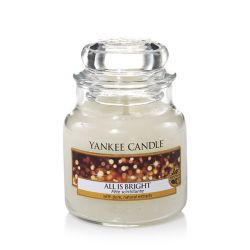 Candele profumate Yankee Candle color bianco  All Is Bright Small Jar online - Prezzo:   11.90 €