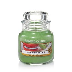 Candele profumate Yankee Candle color verde  Macaron Treats Small Jar online - Prezzo:   11.90 €