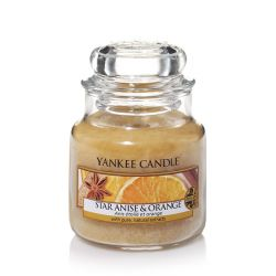 Candele profumate Yankee Candle color beige  Star Anise & Orange Medium Jar online - Prezzo:   24.90 €