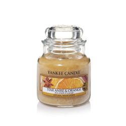 Candele profumate Yankee Candle color beige  Star Anise & Orange Small Jar online - Prezzo:   11.90 €