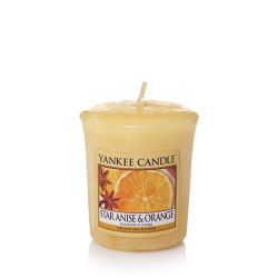 Candele profumate Yankee Candle color beige  Star Anise & Orange Votive online - Prezzo:   1.85 €