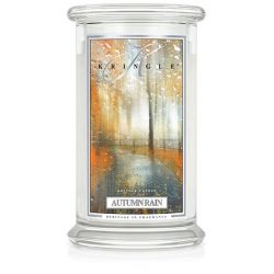 Candele profumate Kringle color bianco  Autumn Rain Large Jar online - Prezzo:   30.95 €