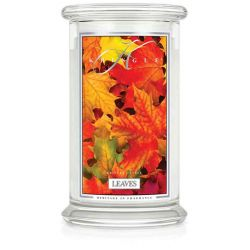 Candele profumate Kringle color bianco  Leaves Large Jar online - Prezzo:   24.75 €