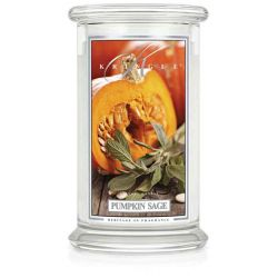 Candele profumate Kringle color bianco  Pumpkin Sage Large Jar online - Prezzo:   30.95 €