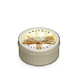 Candele profumate Kringle Candle color bianco  Gold & Cashmere Daylight online - Prezzo:   2.55 €