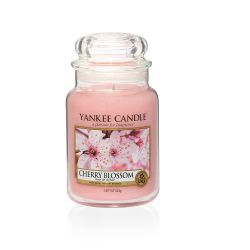 CASA Yankee Candle color rosa  Cherry Blossom Large Jar online - Prezzo:   29.90 €
