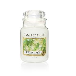 CASA Yankee Candle color bianco  Linden Tree Large Jar online - Prezzo:   29.90 €