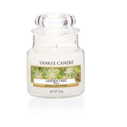 Candele profumate Yankee Candle color bianco  Linden Tree Small Jar online - Prezzo:   11.90 €