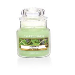 CASA Yankee Candle color verde  Wild Mint Small Jar online scontato del % - Prezzo:   11.90 €
