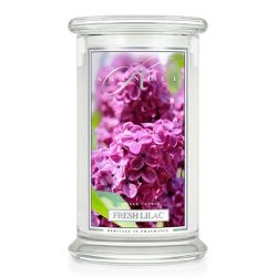 Candele profumate Kringle color bianco  Fresh Lilac Large Jar online - Prezzo:   21.66 €