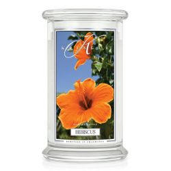 Candele profumate Kringle color bianco  Hibiscus Large Jar online - Prezzo:   23.21 €