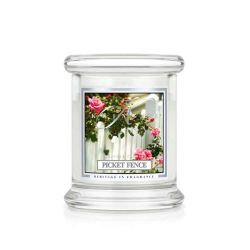 Candele profumate Kringle Candle color bianco  Picket Fience Small Jar online - Prezzo:   16.90 €