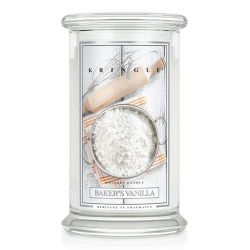 Candele profumate Kringle color bianco  Baker's Vanilla Large Jar online - Prezzo:   24.75 €