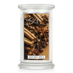 Candele profumate Kringle Candle color bianco  Kitchen Spice Large Jar online - Prezzo:   30.90 €