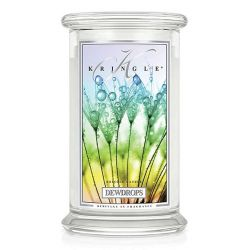 Candele profumate Kringle Candle color bianco  Dewdrops Large Jar online - Prezzo:   30.90 €