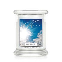 Candele profumate Kringle color bianco  Fresh Air Medium Jar online - Prezzo:   26.95 €
