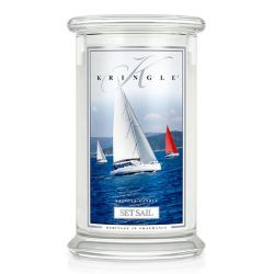 Candele profumate Kringle color bianco  Set Sail Large Jar online - Prezzo:   23.21 €