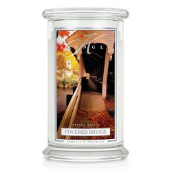 Candele profumate Kringle color bianco  Covered Bridge Large Jar online - Prezzo:   30.95 €
