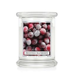 Candele profumate Kringle color bianco  Frosted Cranberry Medium Jar online - Prezzo:   26.95 €