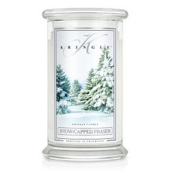 Candele profumate Kringle color bianco  Snow-Capped Fraser Large Jar online - Prezzo:   30.95 €