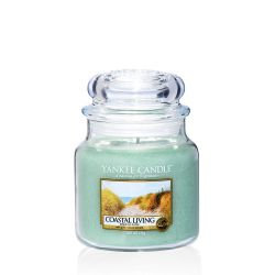 Candele profumate Yankee Candle color verde  Coastal Living Medium Jar online scontato del % - Prezzo:   24.90 €