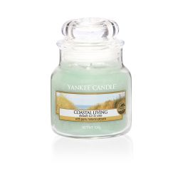 Candele profumate Yankee Candle color verde  Coastal Living Small Jar online - Prezzo:   11.90 €