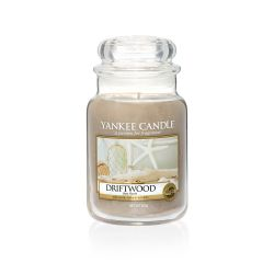 Candele profumate Yankee Candle color marrone  Driftwood Large Jar online - Prezzo:   29.90 €