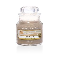 Candele profumate Yankee Candle color marrone  Driftwood Small Jar online - Prezzo:   11.90 €