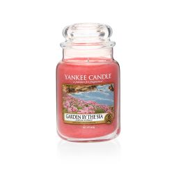 Candele profumate Yankee Candle color rosa  Garden by the Sea Large Jar online - Prezzo:   29.90 €