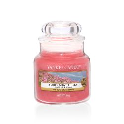 Candele Yankee Candle online  color rosa  Garden by the Sea Small Jar online - Prezzo:   8.33 €