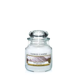 Candele profumate Yankee Candle color bianco  Angel's Wings Small Jar online - Prezzo:   11.90 €