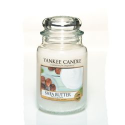 Giare grandi Yankee Candle  color bianco  Shea Butter Large Jar online - Prezzo:   29.90 €