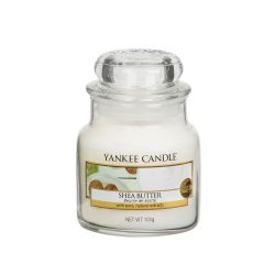 Candele profumate Yankee Candle color bianco  Shea Butter Small Jar online - Prezzo:   11.90 €